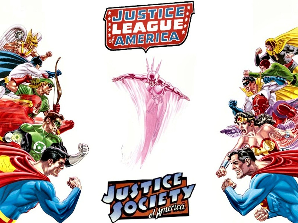 You are viewing the cartoons justiceleague wallpaper named Justice league 1.