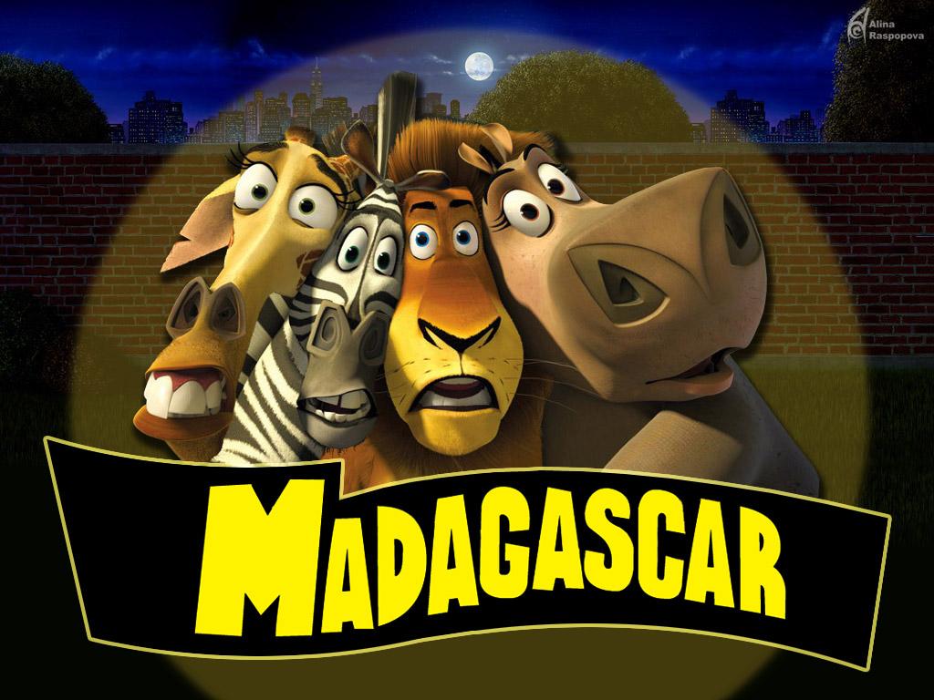 You are viewing the cartoons madagascar wallpaper named Madagascar