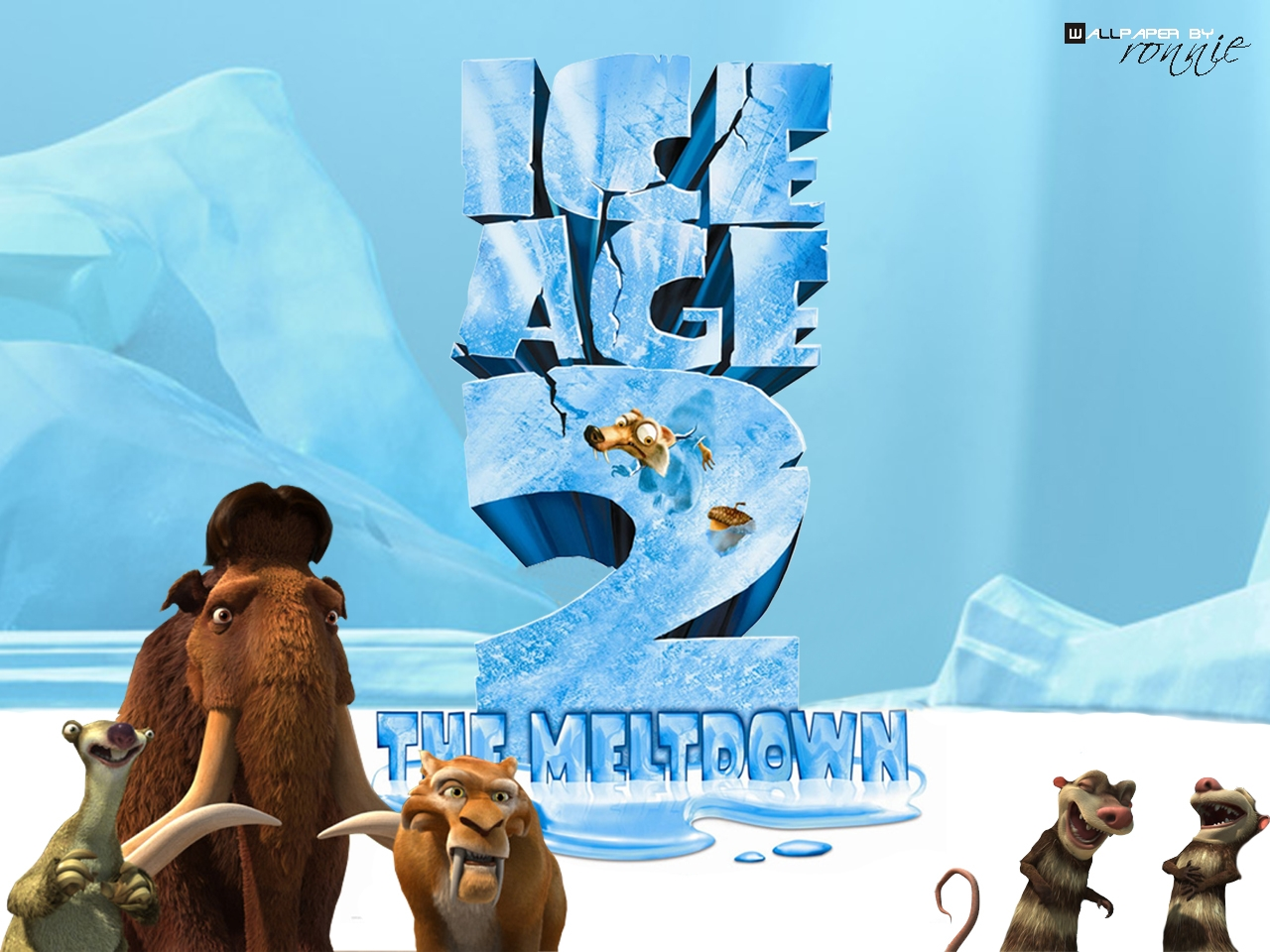 You are viewing the movie iceage2 wallpaper named Ice age 2 3.