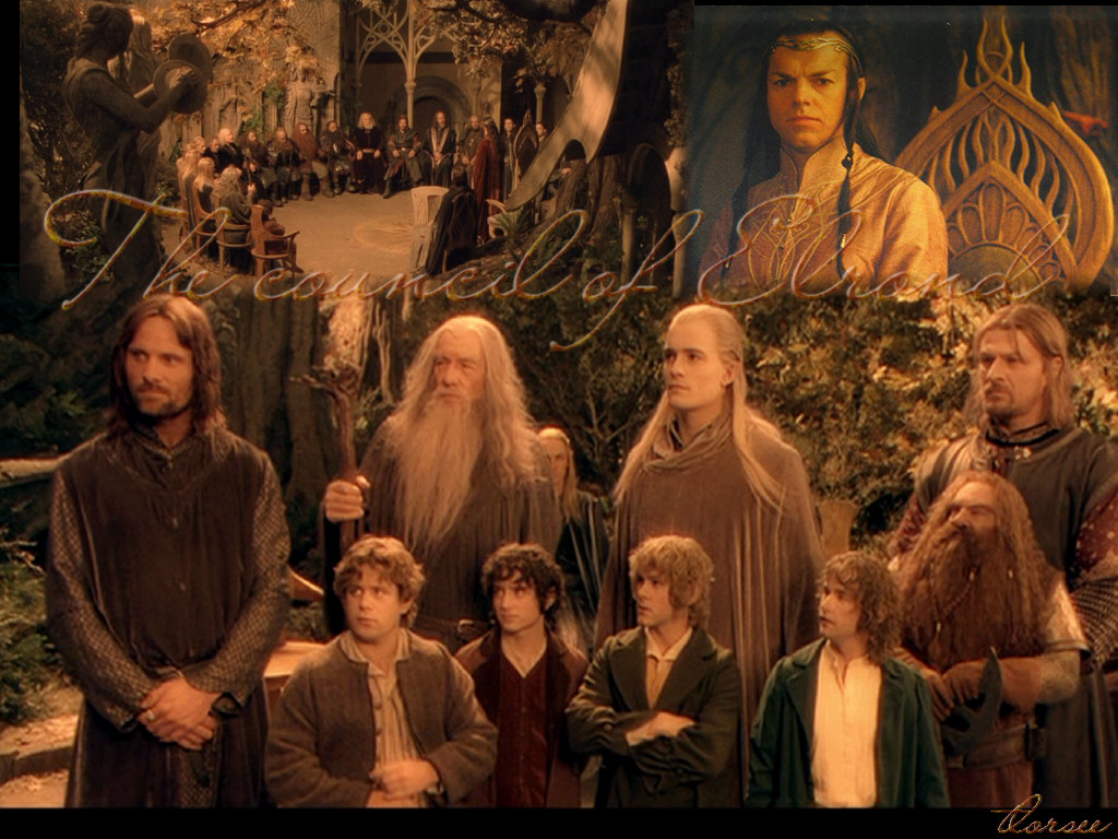 an analysis of the topic of the elrond and gandalf characters in the lord of the rings novel by j r  I was a cynical 15 year old well on my way to becoming another useless polemic invertebrate when i started reading lord of the rings gandalf , who listened more.