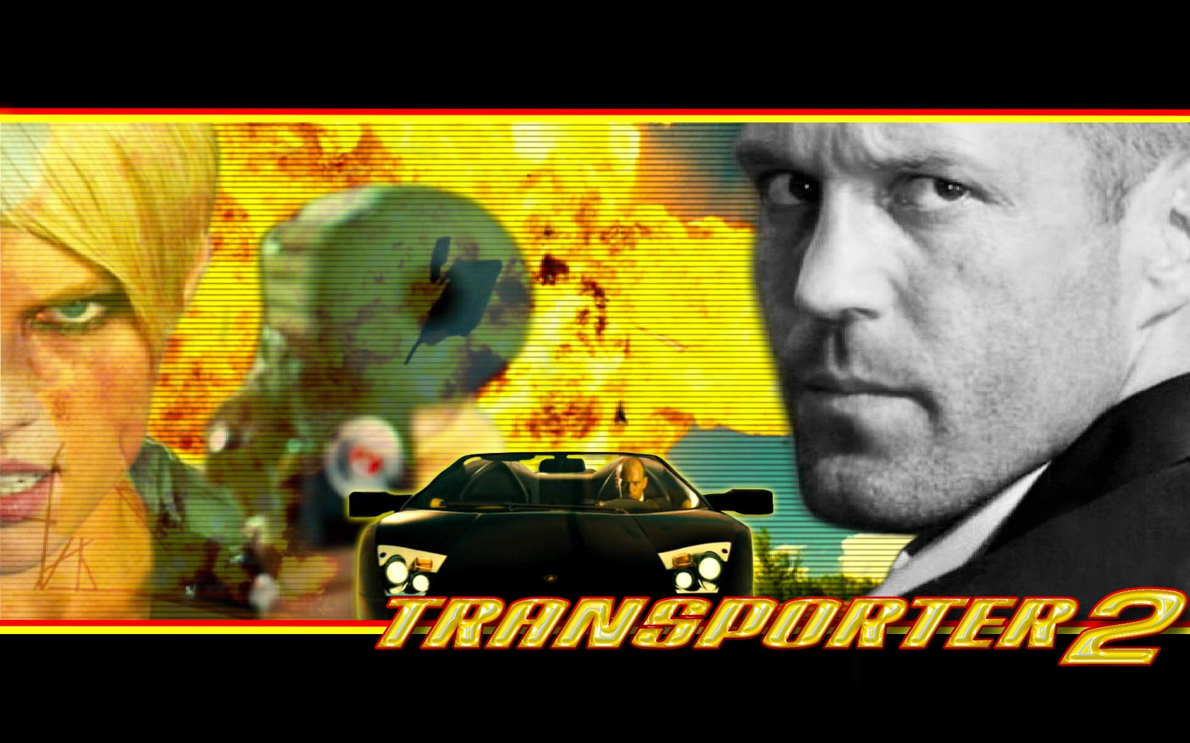 Download movie transporter2 wallpaper, 'Transporter 2 2'.